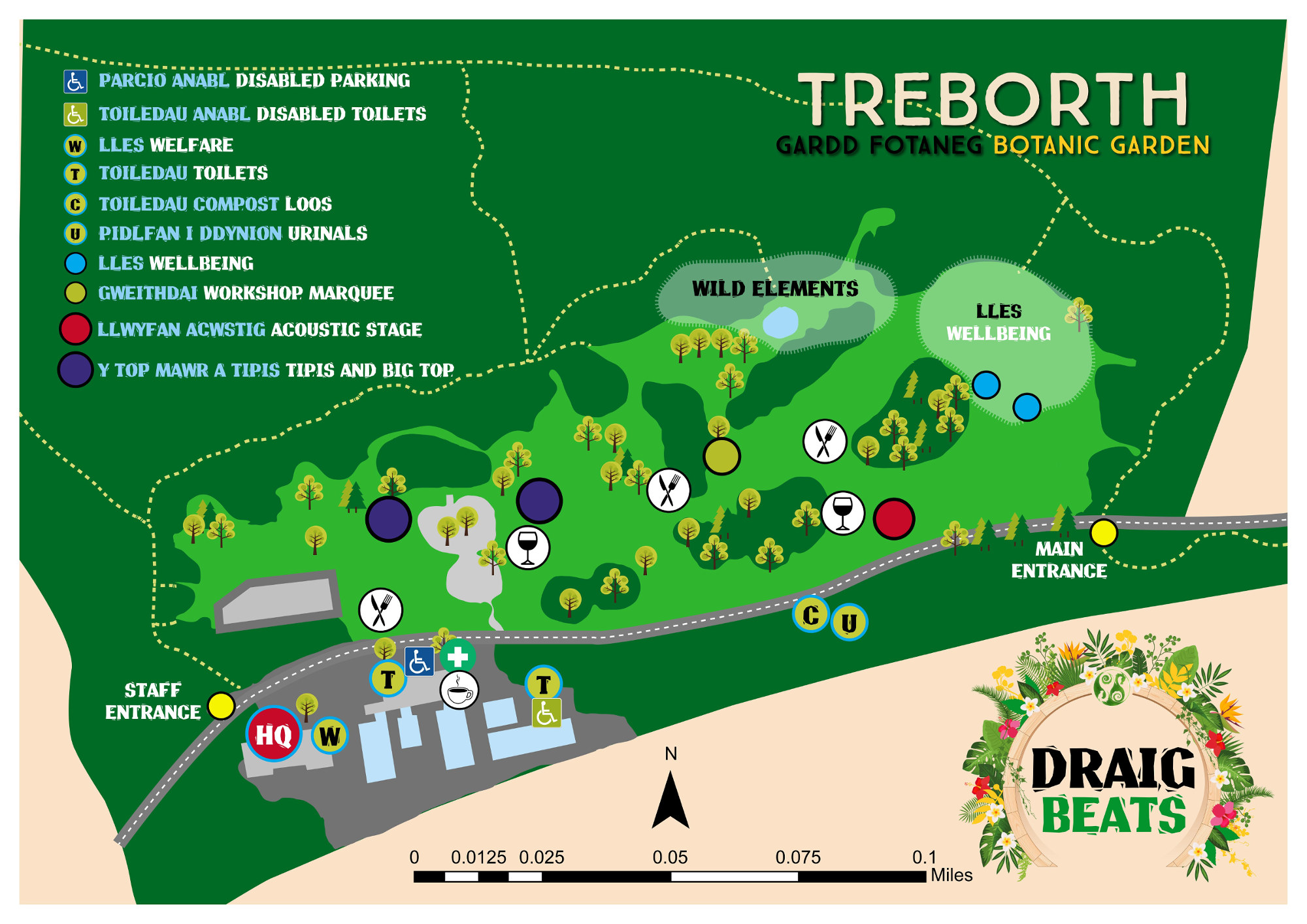 The site map